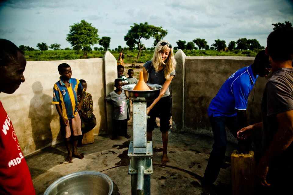 Africa clean water well