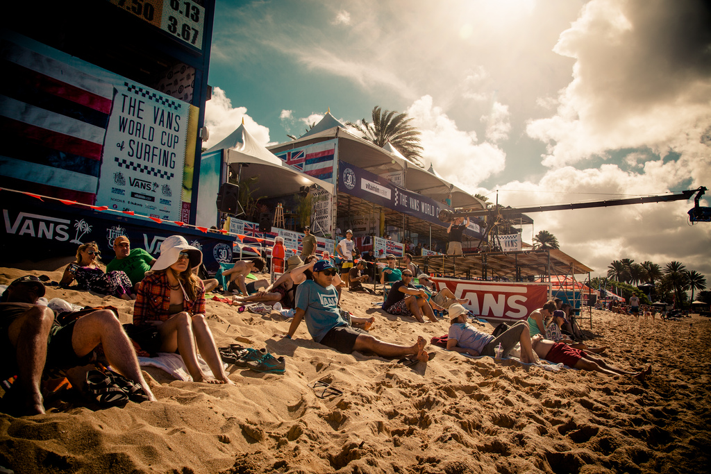 vans world cup of surfing