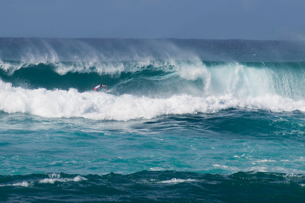 surfing north shore oahu