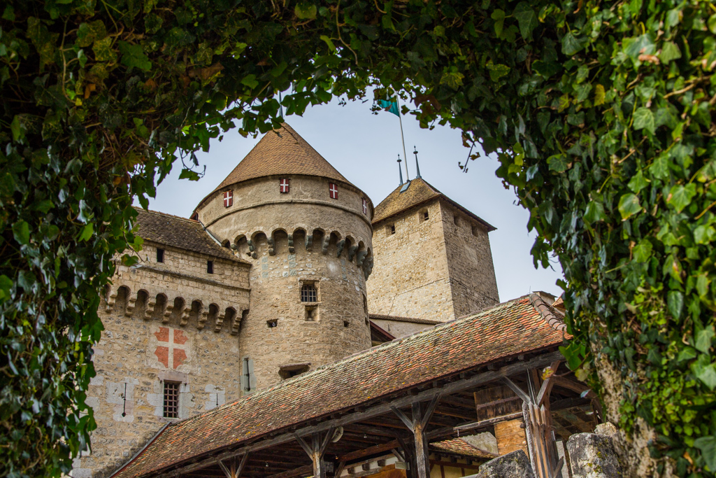 Chateau de Chillon castle europe switzerland
