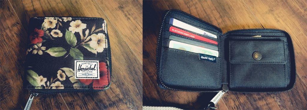 herschel wallet review