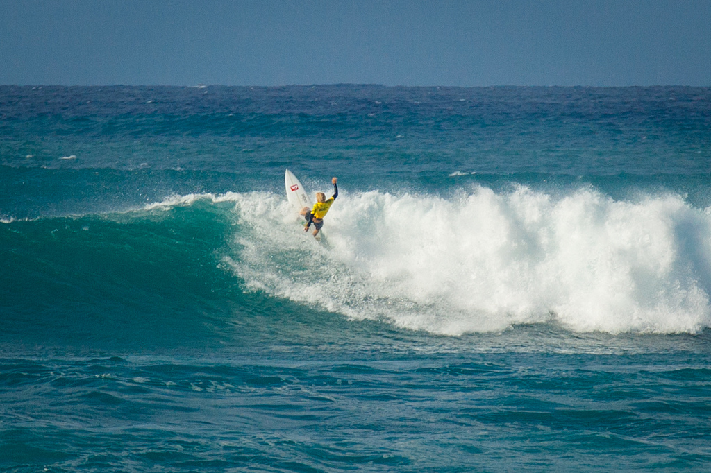 surfing north shore hawaii