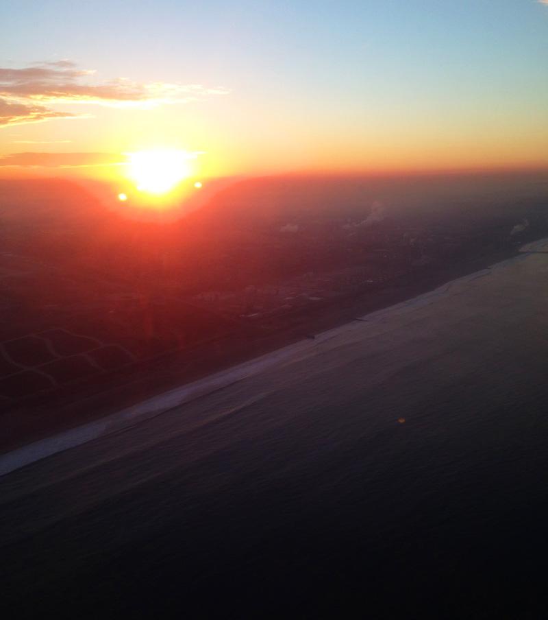 sunset la