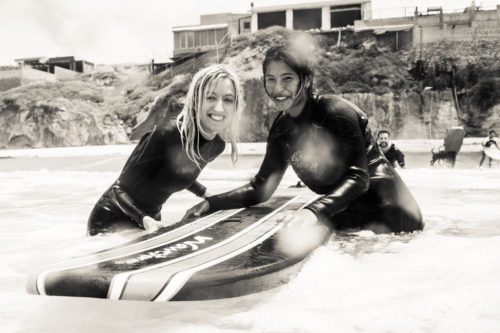 surfing with orphans in mexico