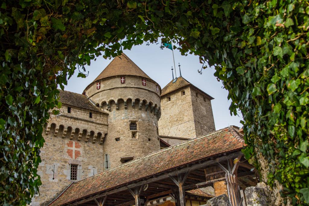 Chateau de Chillon castle europe switzerland